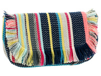 Clutch - Colourful Stripes