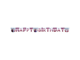 Frozen 2 1 Die-cut Happy Birthday banners