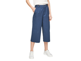 Regular Fit: Culotte mit Elastikbund - 7/8-Hose