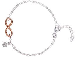 Armband - Infinity Roségold