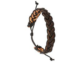 Herren Armband -  New Braided Leather