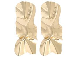Ohrstecker - Wrinkled Gold