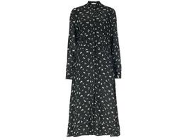 IVY & OAK Midi-Kleid mit geraffter Taillenpartie