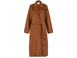 IVY & OAK Mantel aus Wolle mit Gürtel