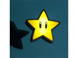 Super Mario - Lampe Powert Stern
