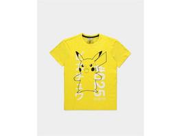 Pokémon - T-Shirt Donnerschock Pikachu Größe - S