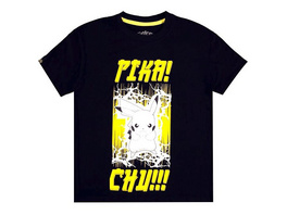 Pokémon - T-Shirt PIKA - CHU Größe - XL