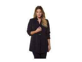 Ulla Popken Blazer, Business-Qualität, Longform, selection - Große Größen