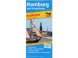 Hamburg und Umgebung 1:100 000