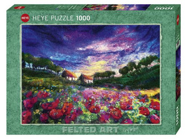 Sundown Poppies Puzzle