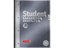 Brunnen Collegeblock Premium Student A4 kariert