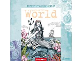Pabuku - Geburtstagskalender Wonderful World