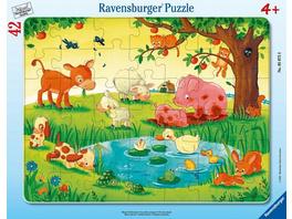 Kleine Tierfreunde (Kinderpuzzle)