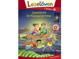 Leselöwen 1. Klasse - Lesenacht im Klassenzimmer