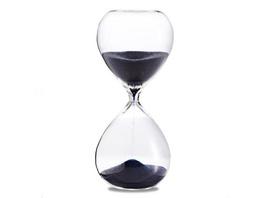 Sanduhr 'Time Out' 60 Minuten, dunkelblau