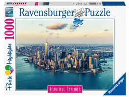 Ravensburger 14086 - Beautiful Skylines, New York, Puzzle,