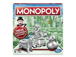 Hasbro C1009100 - Monopoly Classic, Familienspiel