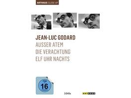 Jean-Luc Godard - Arthaus Close-Up  [3 DVDs]